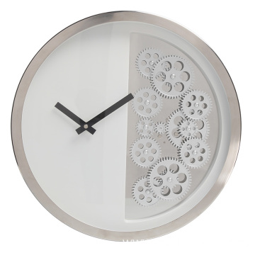 PriceList for for Luxury Wall Clock 14 inches classical round wall clock supply to Armenia Manufacturer